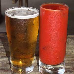 пиво и сок