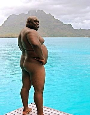 большой черный человек